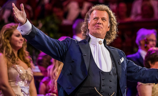 André Rieu waltzes back on to the big screen at Vue Thurrock
