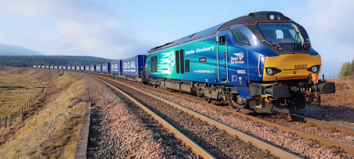 New line opened from Tilbury to Grangemouth