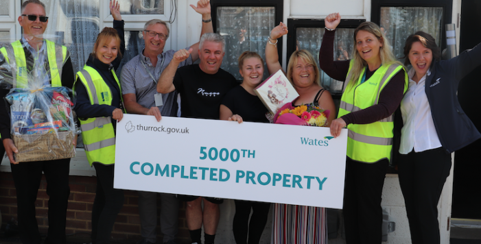 5,000th property improved as part of Transforming Homes programme