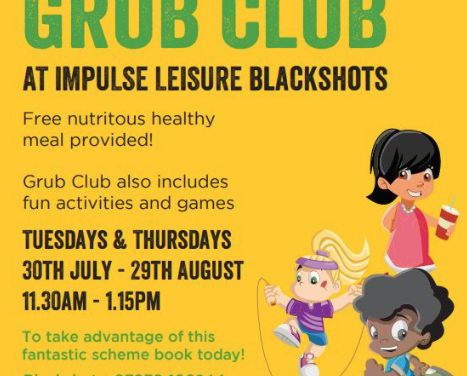 Free Active Grub Club in Thurrock