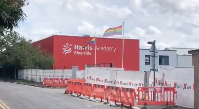 Is there a race against time to get new Harris Academy school opened?