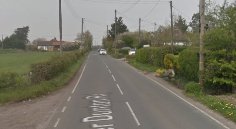 Woman trapped in vehicle after crash near Horndon