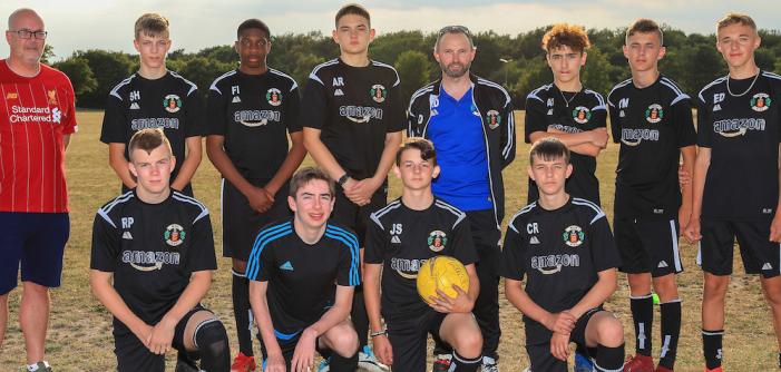 Amazon continues to support Grays Athletic Youth