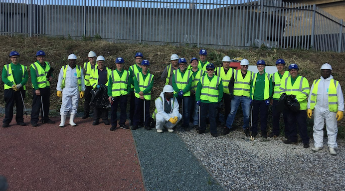 Shipping companies clean up Purfleet