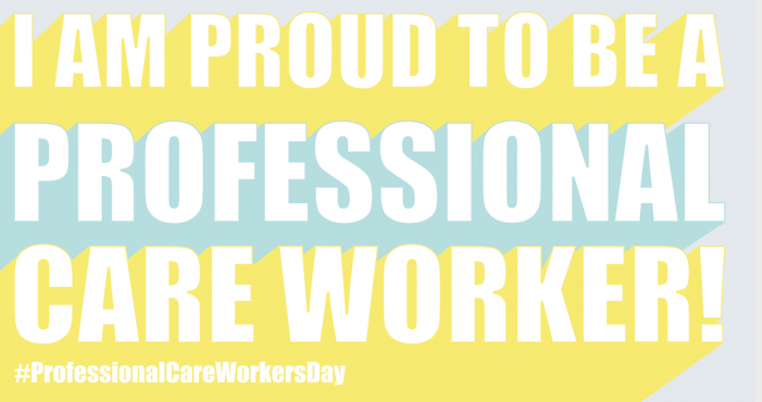 Bluebird Care backs Professional Care Workers Day!
