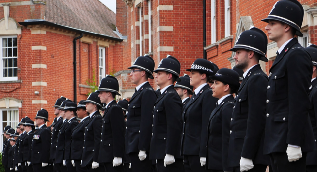 More than 70 new officers start their journey with Essex Police