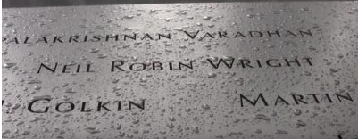 9/11: From Tilbury to the Twin Towers: In memory of Neil Robin Wright