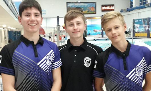 Swimming: Nikita and Harrison earn county call