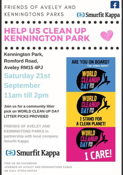Help clean up Kennington Park