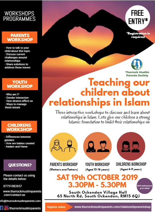 Chance to teach your children about relationships in Islam
