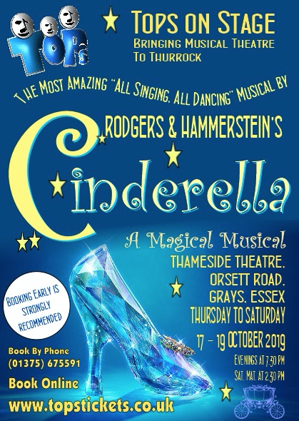 TOPS: Cinderella will go to the Thameside Theatre