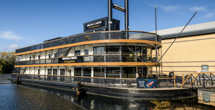 Miller & Carter Lakeside reveals new look following a major refurbishment