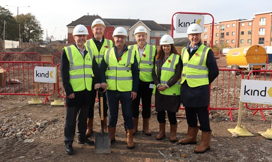 Work starts on 35 specialist new homes in Tilbury