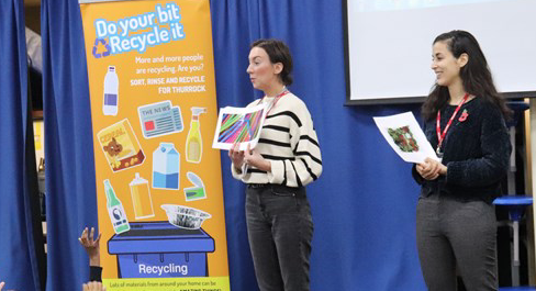 South Ockendon students learn to recycle plastics