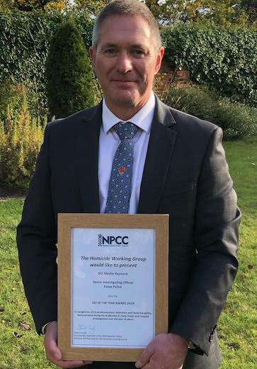 Essex detective wins national award