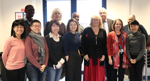 Thurrock health and social care system celebrated with visitors from Singapore