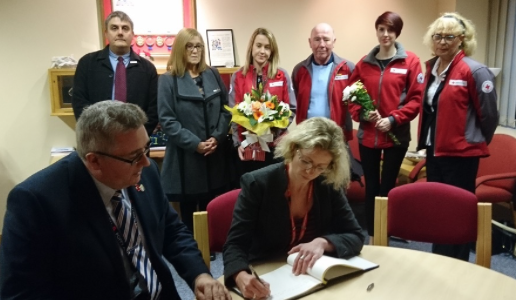 Thurrock Council donates thousands to Red Cross for supporting Essex Police in the wake of lorry deaths