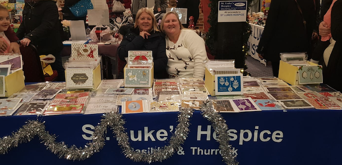 St. Luke's Hospice raise thousands at Christmas Market