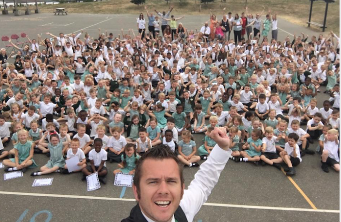 Arthur Bugler shortlisted for Happiest Primary School