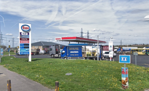 Plans to build new coffee shop at a service station in Purfleet approved