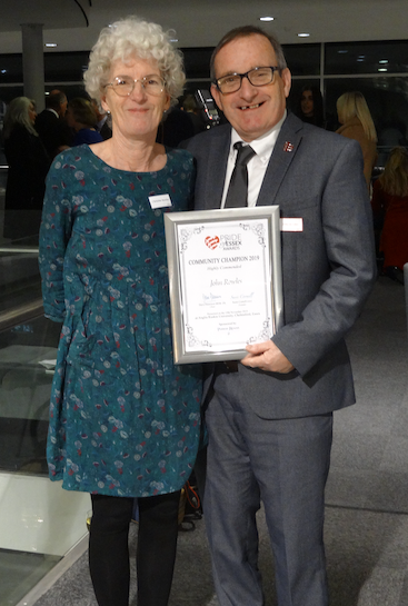 Purfleet community champion lauded for great work