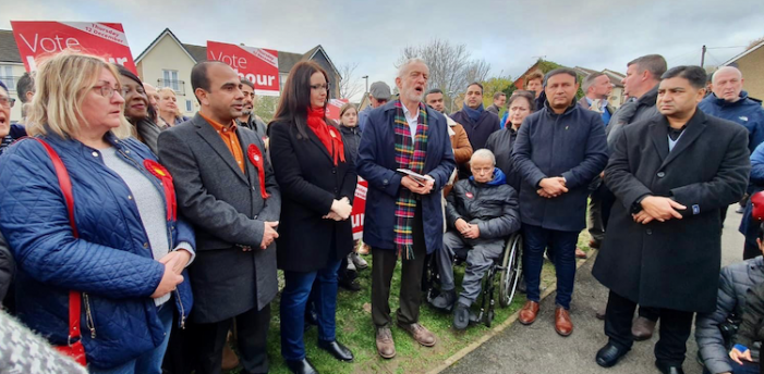 Labour leader Jeremy Corbyn visits Thurrock