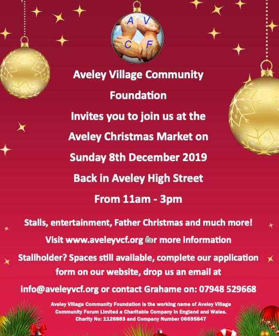 Aveley Village Christmas Market