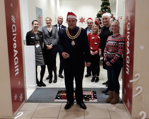 Thurrock Council launch Christmas Give a Gift at intu Lakeside