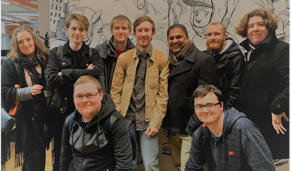 Games Design students paid a visit to BAFTA award winning company, Bossa Studios UK.