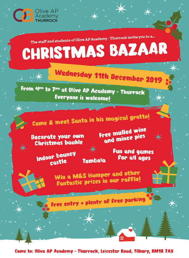 Olive Academy set to hold Christmas Bazaar