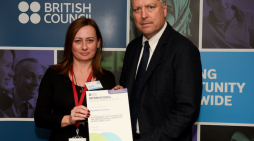 British Council International School Award success for Woodside Academy