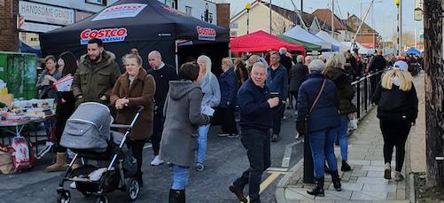 Aveley Christmas market a great success