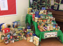Purfleet Primary Festive Food Bank success!