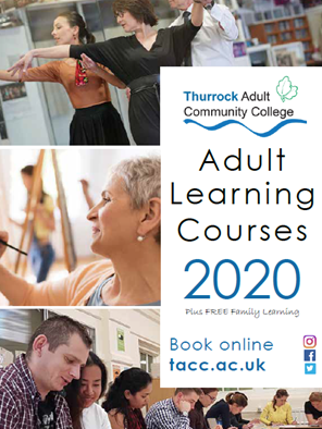New adult learning classes in Thurrock