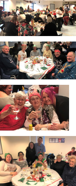 Christmas party for Thurrock's volunteers