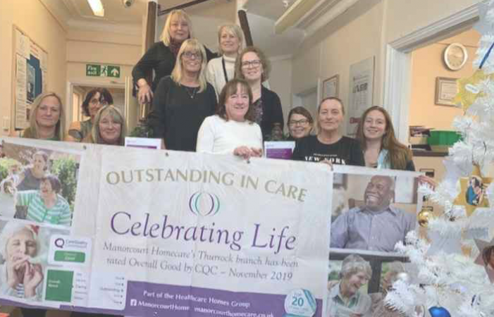 Caring team end a year to remember with party