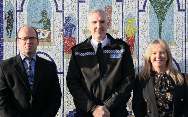 Essex Police launch domestic abuse scheme at Belmont Castle Academy