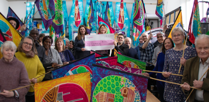 Kinetika celebrates success in National Lottery funding bid for T100