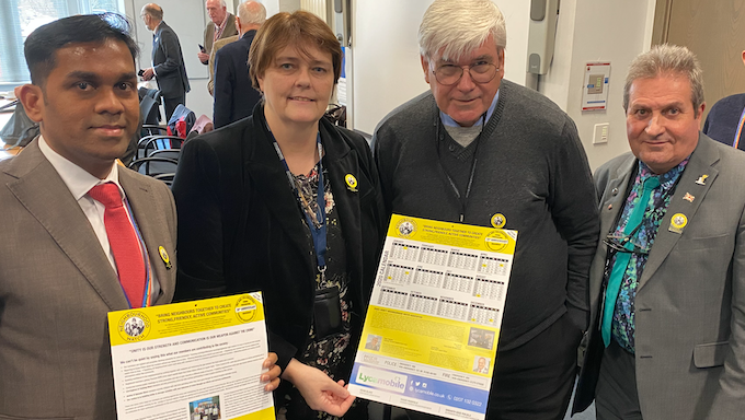 Thurrock Neighbourhood Watch unveil 2020 calendar