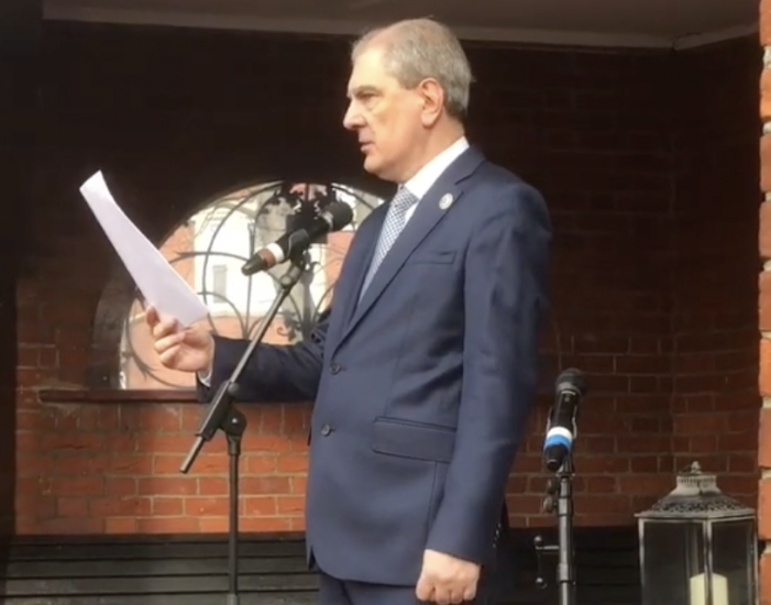 Speech at memorial service in Thurrock slams Labour and its leader over antisemitic campaign