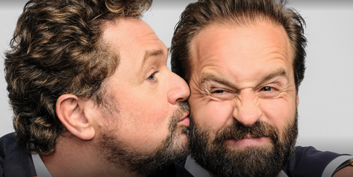 Michael Ball and Alfie Boe, are 'Back Together'  at Harlow Cineworld