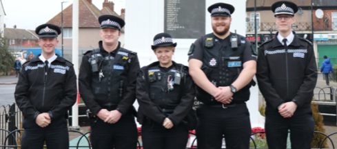 Two new Town Centre Teams are going to be out on patrol in Thurrock.