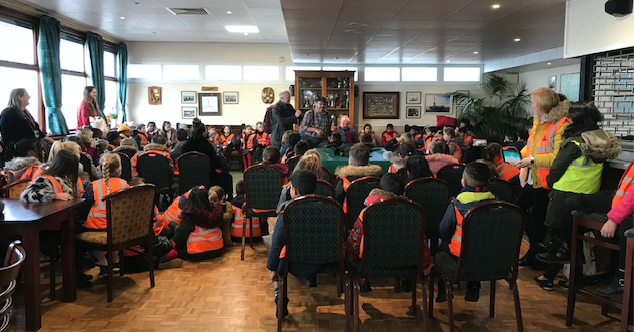 Thameside Primary pupils visit Thurrock Yacht Club