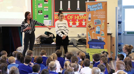 Primary school children benefit from Thurrock-wide metals recycling campaign