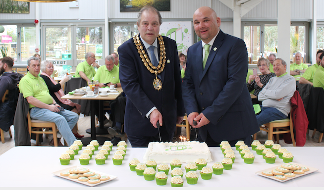 Mayor of Thurrock attends Ockendon-based H W Wilson's 90th Anniversary Celebrations