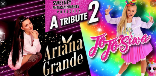 Tribute to Ariana Grande and JoJo Siwa at the Thameside Theatre.