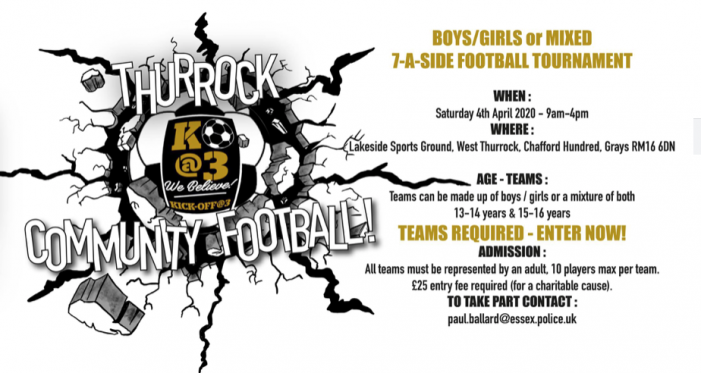 Thurrock Community Football Tournament 2020