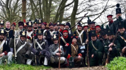 Re-enactment group at Tilbury Fort