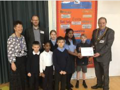 Silver Diversity Mark presented to Stanford-le-Hope Primary School