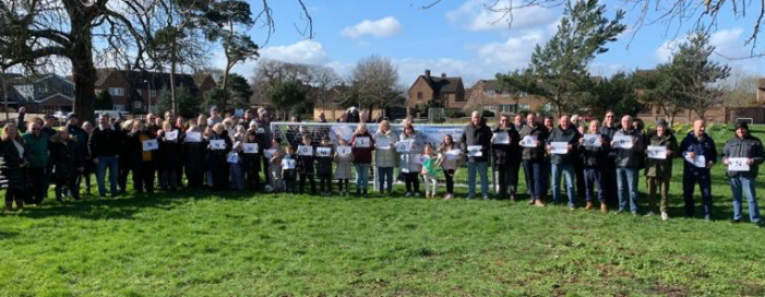 South Ockendon community unites to protect green space